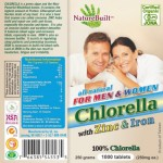 ZINC_IRON_Nature Built Chlorella_Tablet