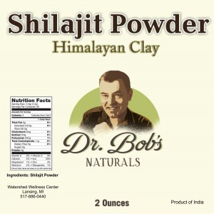 Shilajit Powder - 2 Ounce - Dr Bob Label