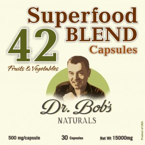 42 BLEND Capsules - Dr Bob Label