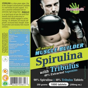 Spirulina with Tribulus