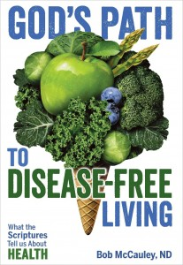 Gods Path to Disease-Free Living - FRONT Cover