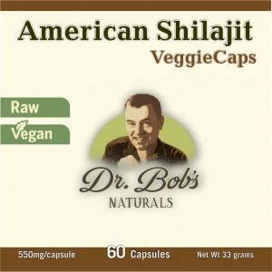 American Shilajit - Capsules - Dr Bob Label